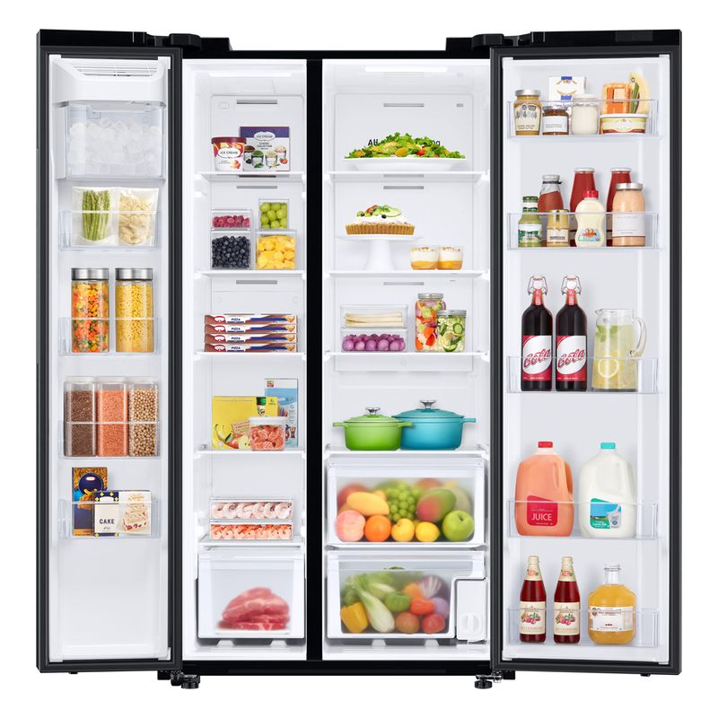 2_RS28A5000B1-CO_005_Front-Open-With-Food1_Black